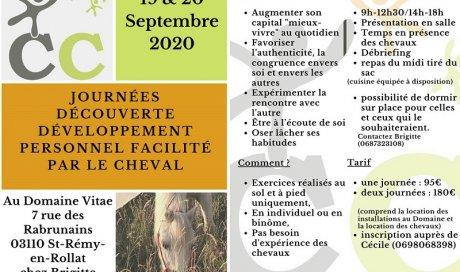 Journées formation développement personnel en Auvergne-Rhône-Alpes